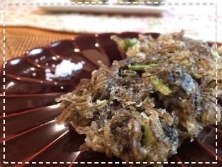 もずくの天ぷら2