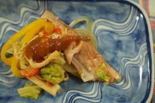 鮭のちゃんちゃん焼き風