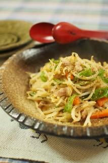 野菜炒め(バターピーナッツ入り)
