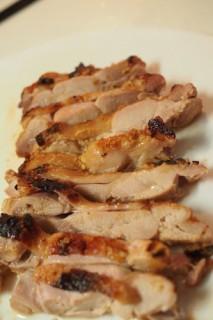 鶏肉の酒粕味噌漬け(焼き上がり)