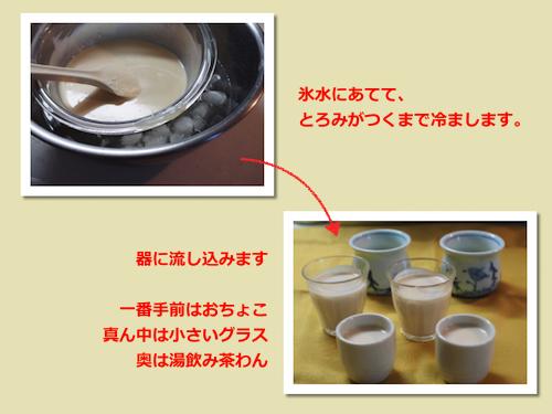 酒粕プリン(レアタイプ)2