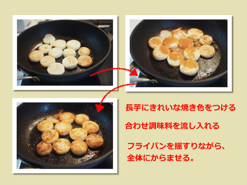 味噌バター炒め(工程)