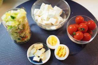 豆腐のサラダ(材料)