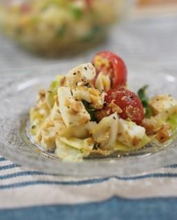 キャベツと豆腐のサラダ