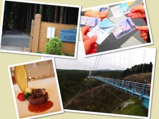 三島スカイウォークと秩父宮記念公園
