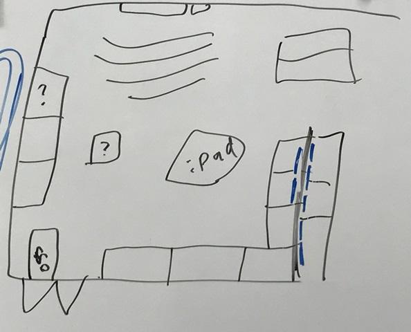 会場レイアウト図ラフ案