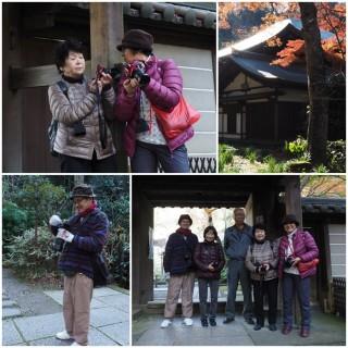 鎌倉瑞泉寺で撮影会(弥生台カメラ講座)2